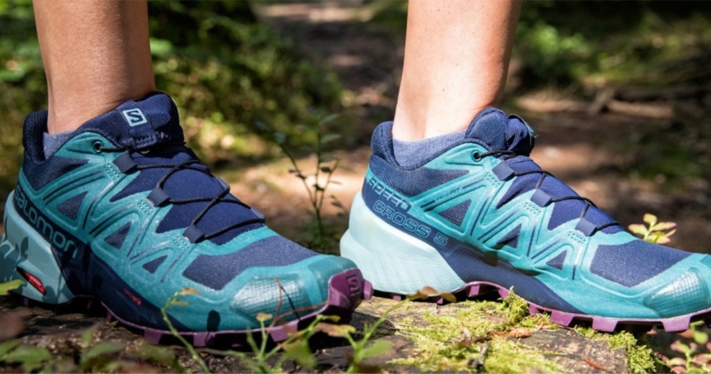 salomon shoes on trail