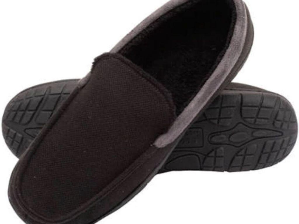 mens mocassin slippers