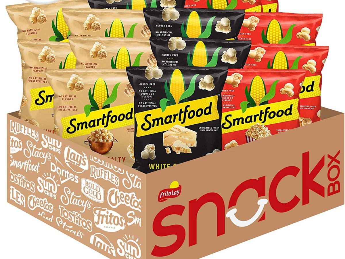 smartfood popcorn snack box