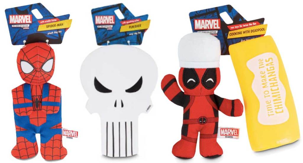 marvel dog toys stock images spider man and more