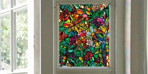 Decorative Spring Chapel Window Film Just $9.39 (Regularly $21)