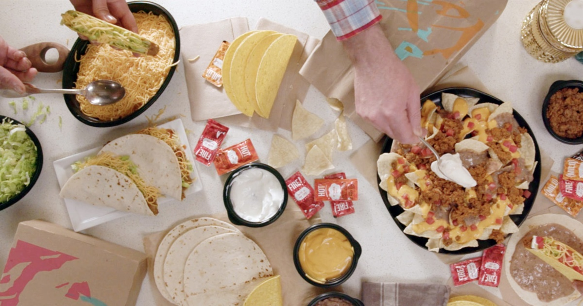 Taco Bell's At-Home Taco Bar