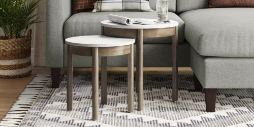 Threshold Round End Tables Set Only $67 Shipped on Target (Regularly $150)