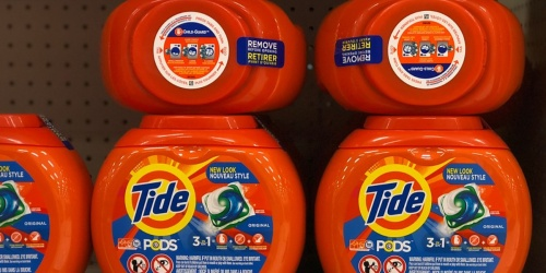 Free $10 Target Gift Card w/ $40+ Laundry Purchase   Save on Tide & Gain