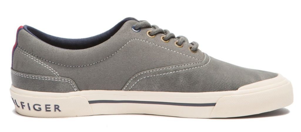tommy hilfiger mens shoe gray product display
