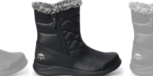 Totes Women's Boots Just $19.59 Shipped for Kohl's Cardholders (Regularly $70)