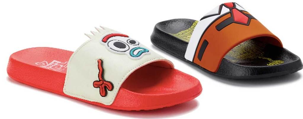 disney toy story and sponge bob kids slides