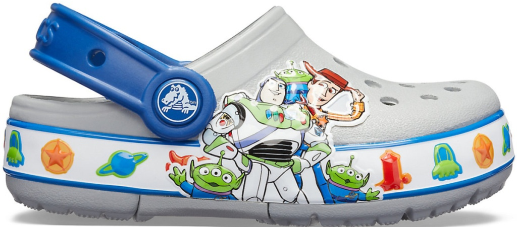buzz and woody crocs