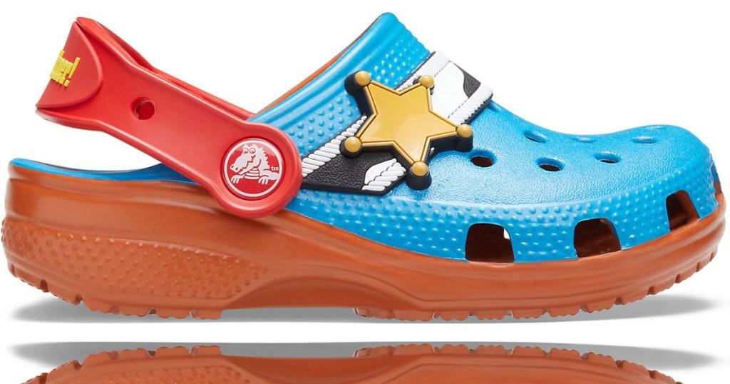 toy story badge crocs