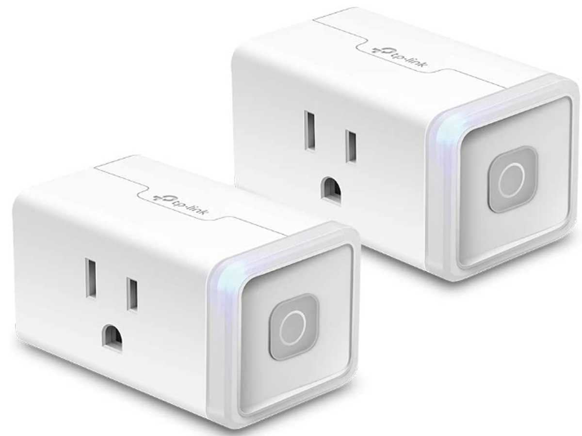 set of two smart link outlets