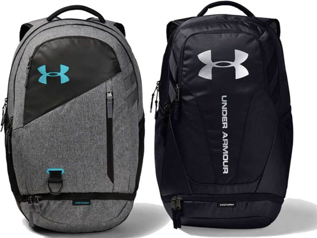 Under Armour Backpacks side by side