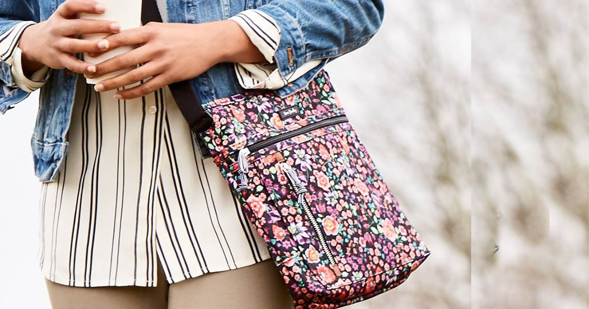 vera bradley hipster bag on girl