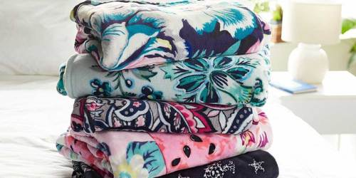 Vera Bradley Throw Blankets as Low as $15 (Regularly $59)