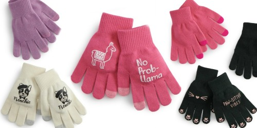 SO Tech Gloves 3-Pack Just $1.96 Shipped for Kohl's Cardholders (Regularly $14)