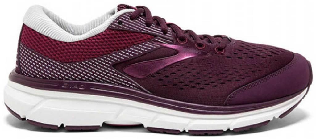 women's brooks running shoe stock image