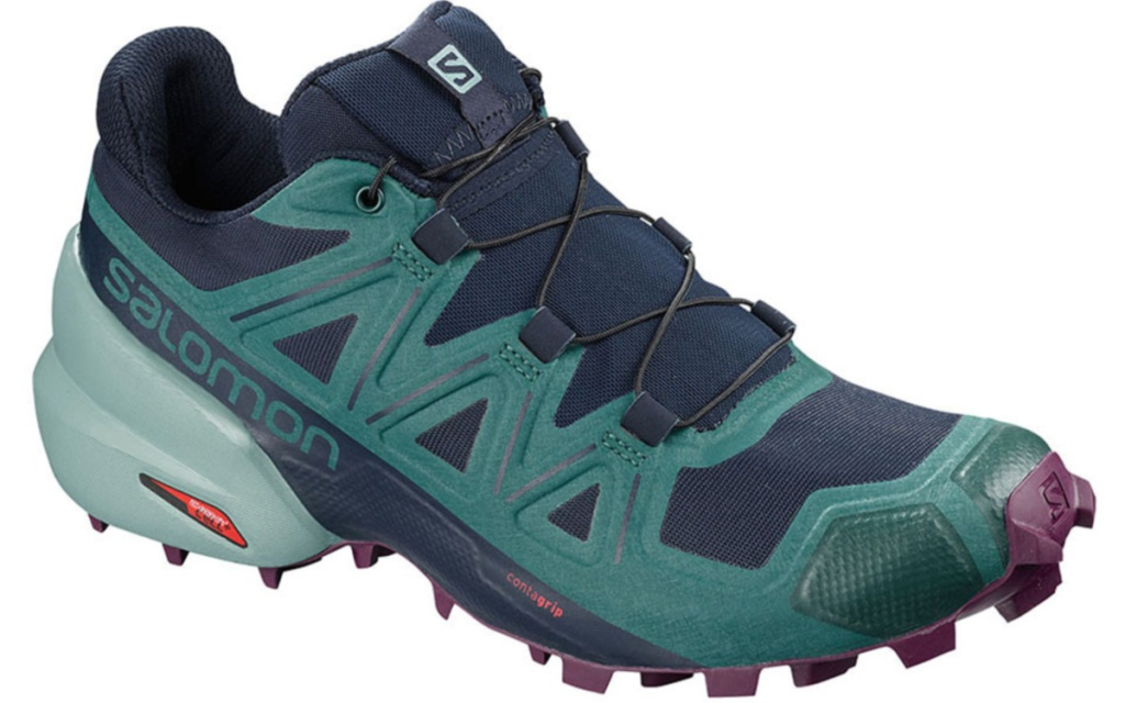 womens solomon shoe teal