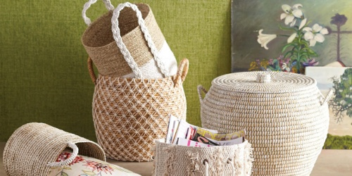 50% Off Baskets on Cost Plus World Market