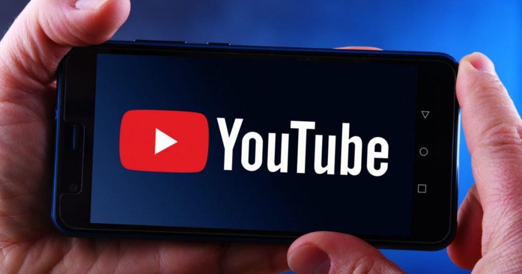 youtube on phone