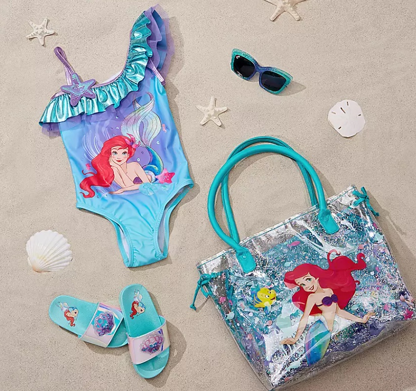 the little mermaid swimwear and accessories