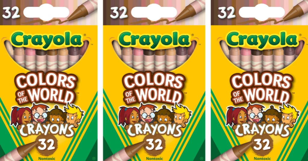 32-Pack of Crayola Colors of the World Crayons