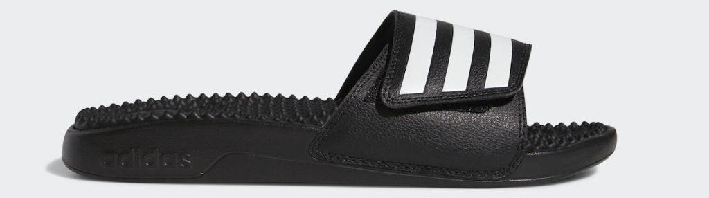 black adidas sandal