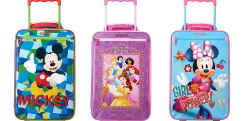 American Tourister Disney Character Kids Luggage from $27 Shipped on Amazon (Regularly $50)