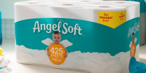 Angel Soft Toilet Paper Mega Rolls 18-Pack Only $14.97 on Walmart.com