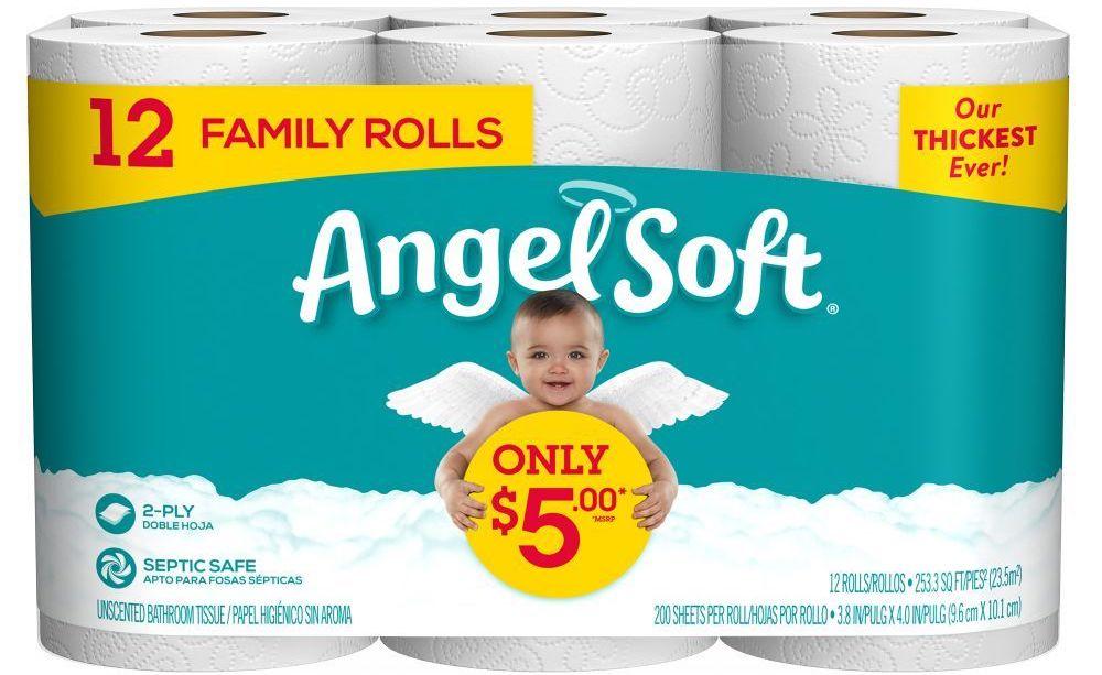 kertas toilet malaikat lembut