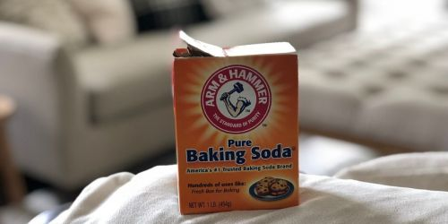 Arm & Hammer Baking Soda 1-Pound Box Only 82¢ on Amazon (Regularly $3)