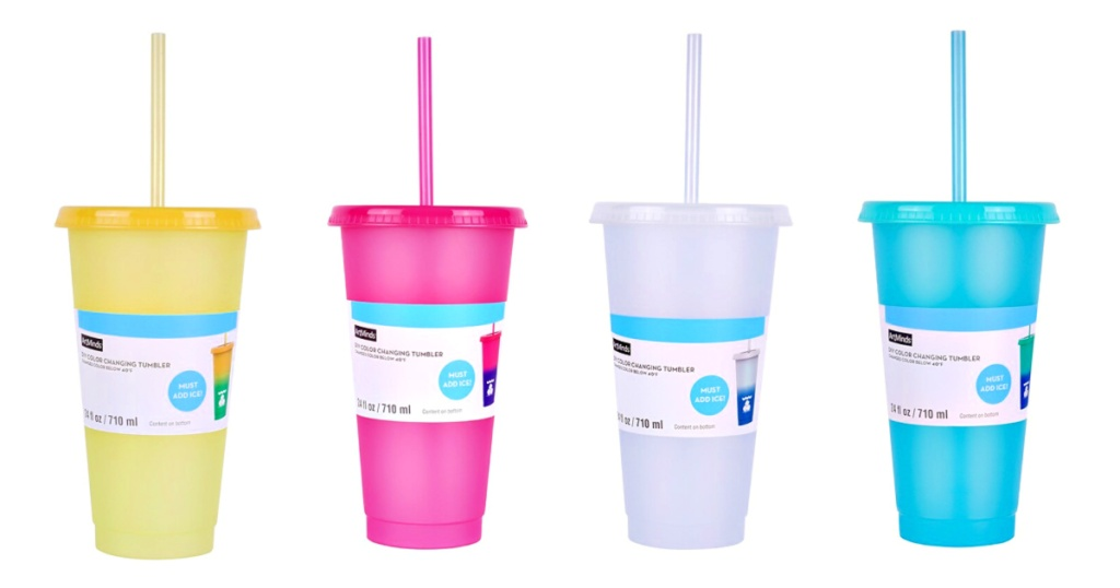 ArtMinds 24oz Color Changing Tumblers