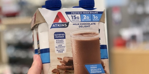 Atkins Protein-Rich Shakes 12-Pack Just $10.85 Shipped on Amazon | Only 90¢ Each