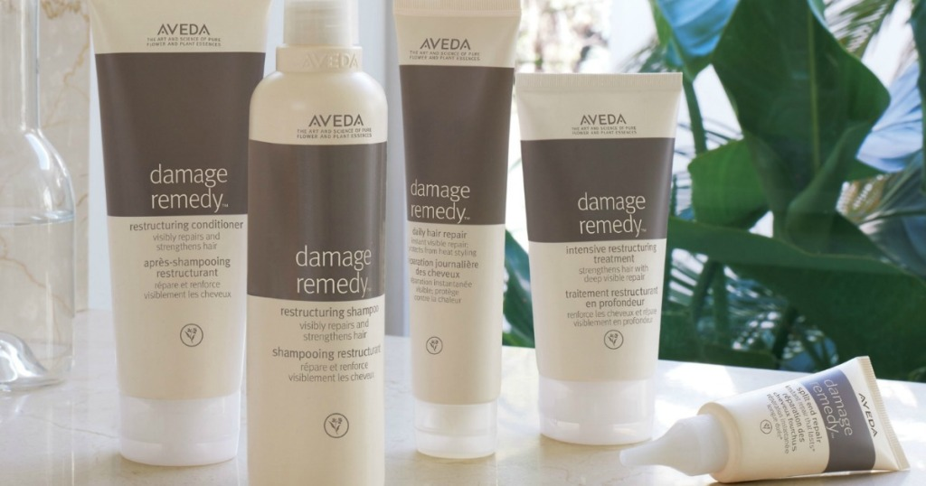 Large collection of Aveda products