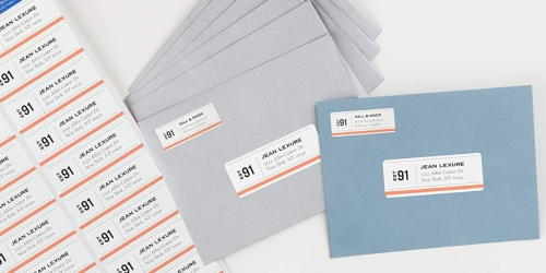 Avery Mailing Address Labels 2000-Count Only $9.99 on Staples.com (Regularly $19)