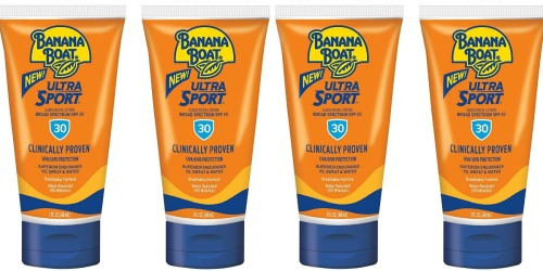 Banana Boat Sport Sunscreen 2-Pack Only $4 Shipped on Amazon | Just $2 Each
