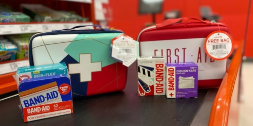FREE Band-Aid First Aid Kit Bag w/ Purchase at Target ($6 Value) | In-Store & Online