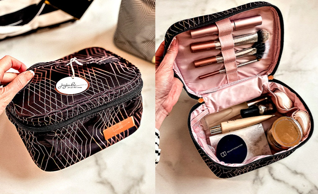 Be Ready Prism Rose Makeup Bag