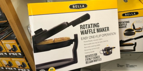 Bella Rotating Waffle Maker Only $16.99 on Kohls.com (Regularly $40)