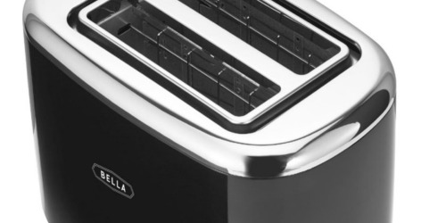 Bella 2-Slice Extra-Wide Slot Toaster Only $9.99 on Best Buy (Regularly $20)