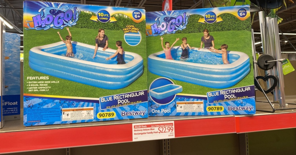 h20 go pool on store shelf