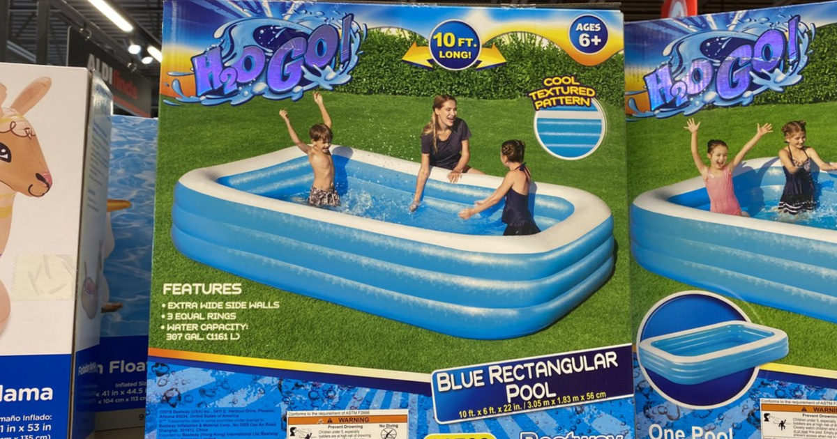 h20go pool on store shelf