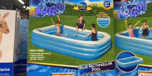 H2O Go! Rectangular Family Pool Just $22.99 at ALDI
