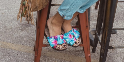 Muk Luks Women's Sandals Only $15.99 Shipped (Regularly $46+)
