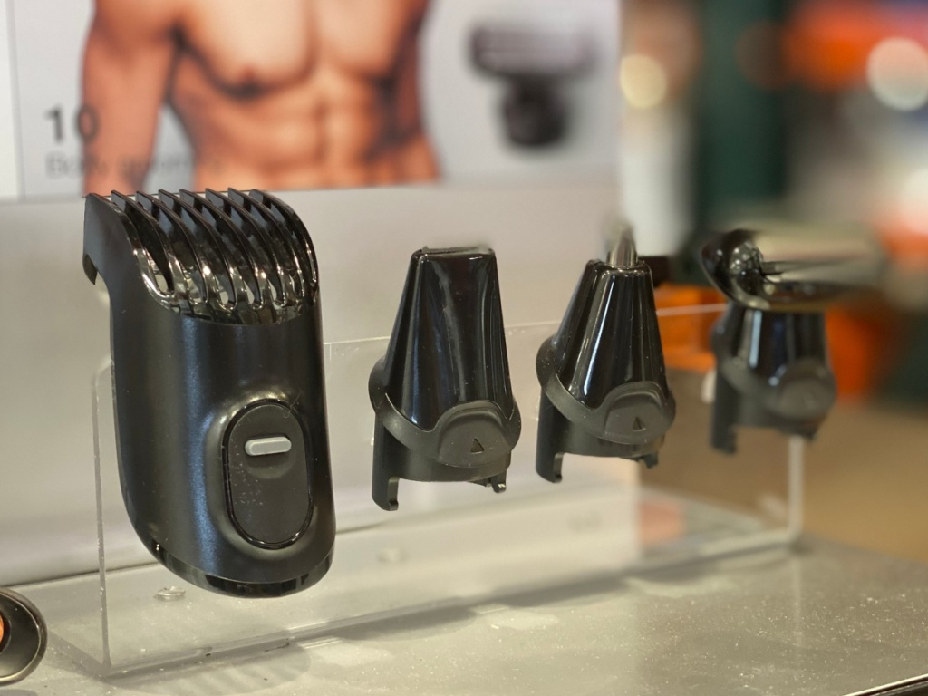 Braun men's trimmer accessories