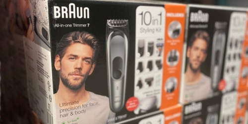 Braun 10-in-1 Trimmer Kit Just $39.99 Shipped on Costco.com (Regularly $55)