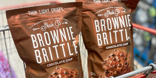 Buy One, Get One Free Sheila G's Brownie Brittle at Costco