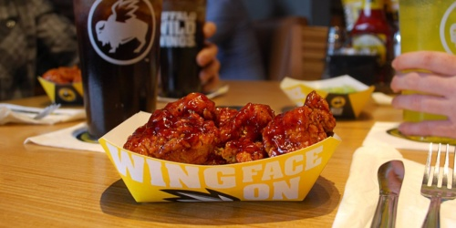 Buy One, Get One FREE Boneless Wings at Buffalo Wild Wings