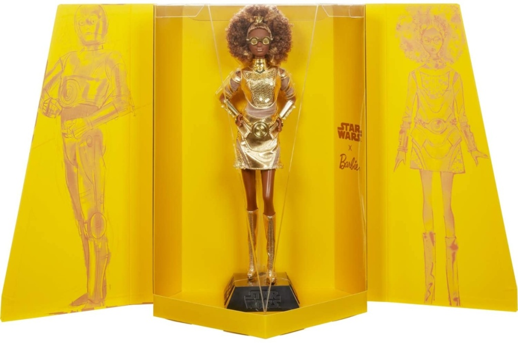 C-3PO inspired Barbie doll