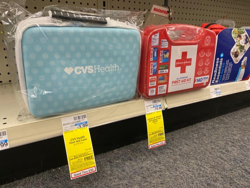 CVS Health First Aid Case on shelf