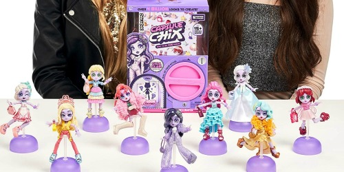 Capsule Chix Giga Glam Collection w/ Doll Only $6.60 on Amazon (Regularly $15)