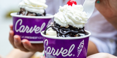 Buy One Carvel Sundae, Get One FREE | Today Only